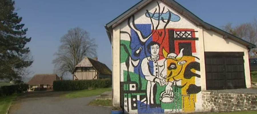 Fernand Léger's farm transformed into a museum in 2017