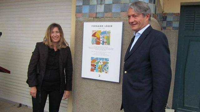 Painter Fernand Léger honored in Deauville