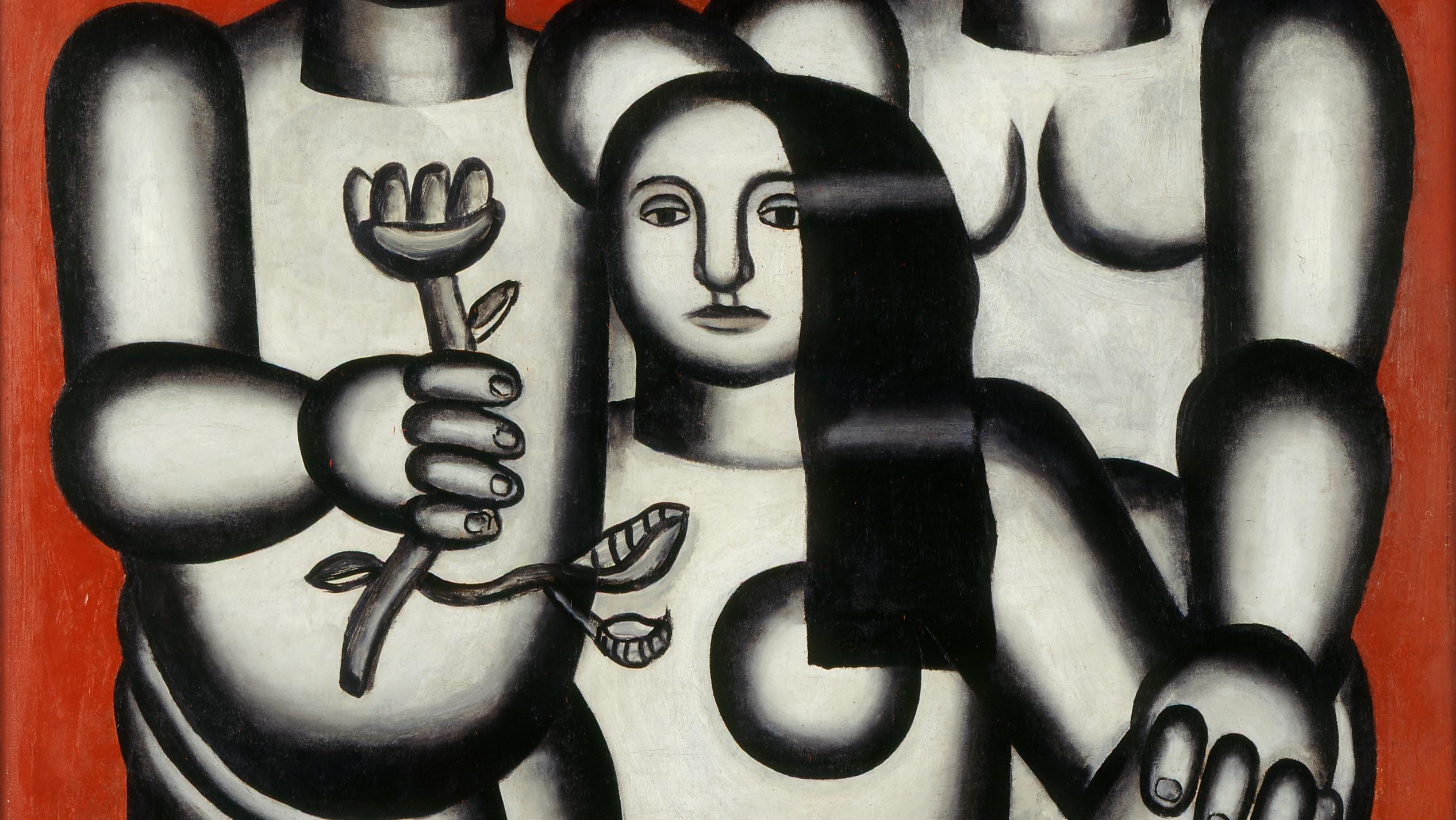 Musée des Beaux-Arts de Caen: tribute to Nadia and Fernand Léger