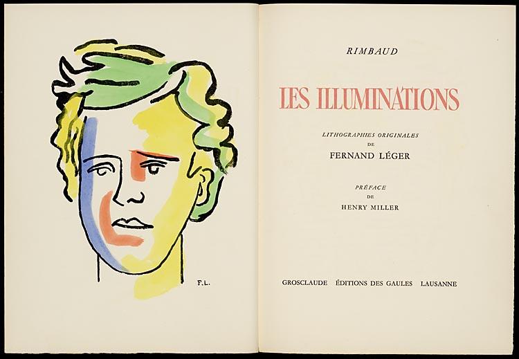 Le piège des gouaches extraites des «Illuminations» de Rimbaud